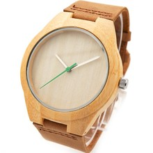 Hot sell Men Dress Watch Wooden Watches Japan 2035 Quartz Movement Natural Wood Watch New Design