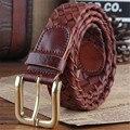 Cowhide Genuine Leather Belts women brand Strap pin buckle fancy vintage  jeans strap Designers high quality Width 3.3CM luxury