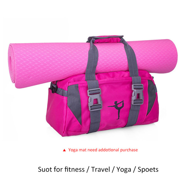 Yoga Mat Bag Fitness Gym Bags Sports Nylon Training Shoulder Sac De Sport For Women Men Traveling Duffel Gymtas 2019 Men XA55WA 2