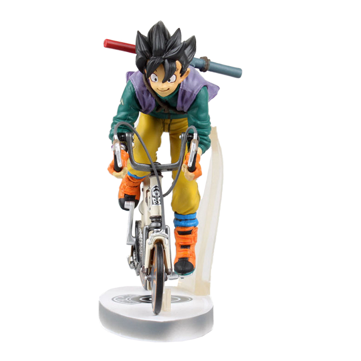 Chanycore 23CM Anime Dragon Ball Z Son GOKU Super Saiyan Action Figures crystal balls PVC Limit Boxed For Kids Gift Toy 0394 7cm large size jp hand done animation crystal dragon ball set genuine model toy gift action figures anime toys kids