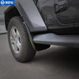 Image 3 - Momai garde boue pour Jeep Wrangler JL 2018, garde boue avant et arrière, accessoires garde boue