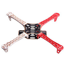 HJ 450 450F Nylon Fiber Flamewheel Frame Airframe kit HJ450 For RC KK MK MWC 4-axis Multicopter Quadcopter UFO Freeship