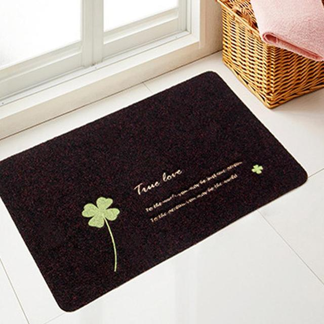 Suede Material Bath Mats Doormat Kitchen Bathroom Bath Mats Absorbent Non-Slip Carpet  For The Toilet