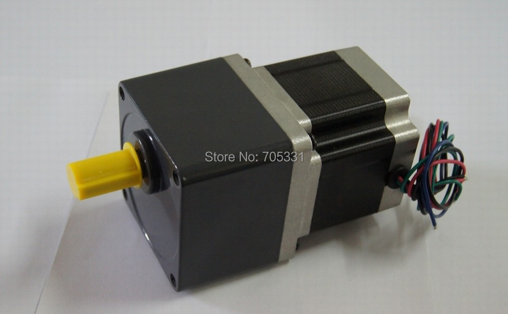 NEMA 34 high Torque 4-lead Frame 86mm Geared Stepper Motor with 4.5N.m Holding Torque Motor Length 80mm Gear Ratio 1:20 коврик для ванной iddis angora times цвет бежевый 70 х 120 см