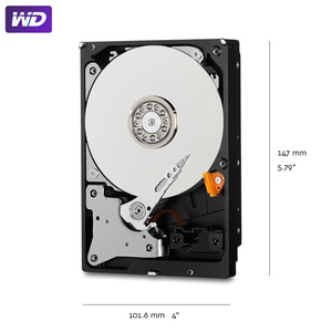 "Image 5 - WD Purple 2TB Surveillance Internal Hard Drive Disk 3.5"" 64M Cache SATA III 6Gb/s 2T 2000GB HDD HD Harddisk for CCTV DVR NVR"