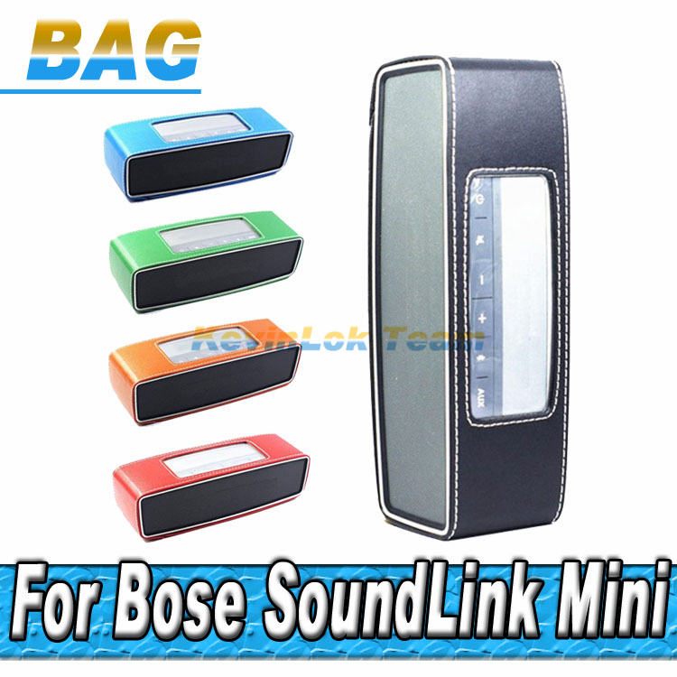 PU Leather Case Cover Sleeve Protective Skin Bumper For Bose Soundlink Mini Bluetooth Wireless Speaker Free Shipping