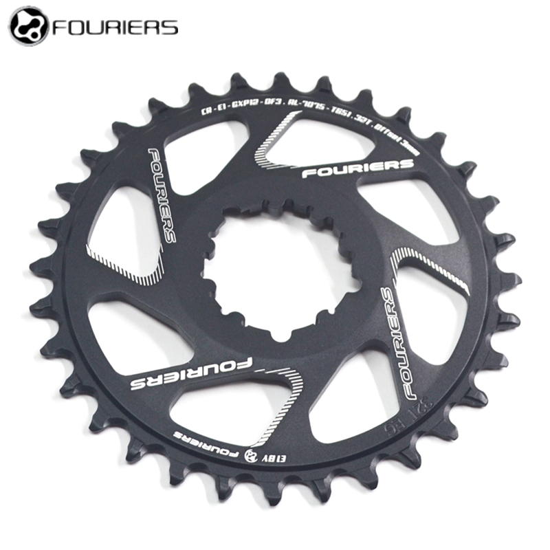 Fouriers 12Speed Bicycle Narrow wide Teeth Chainwheel For GXP System Crankset 3mm Offset 34 36 38T