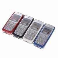 Para Nokia 1110 Habitação Quadro Frente Oriente Moldura Tampa Da Bateria + Ferramentas