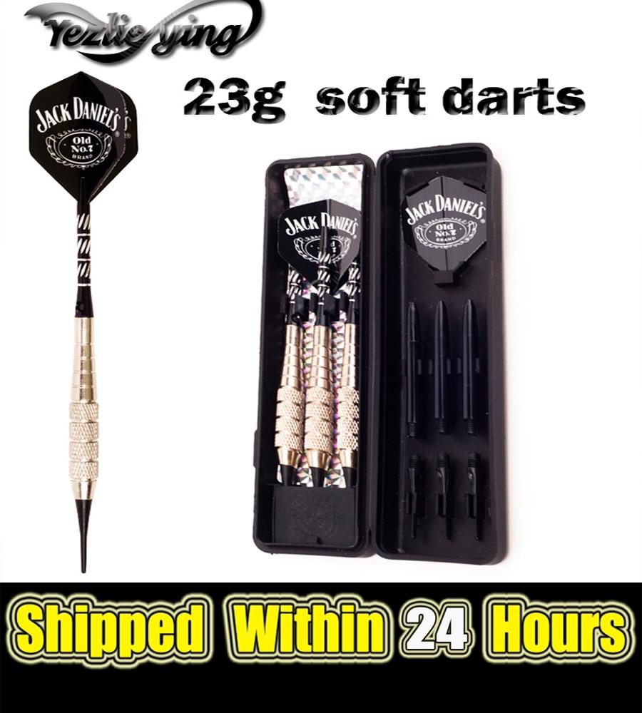 3Pcs/Set Professional Darts 23 Gram Soft Tip Game Electronic Shanks For Darts Outdoor Flights Sport Dartboard
