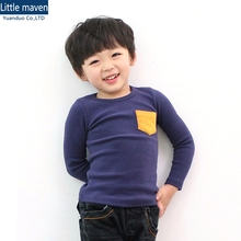 kids plain t shirt boy long-sleeved t shirts for kids New Clothes Children T-shirts Girls Clothing Boys T-Shirt Kid Clothes