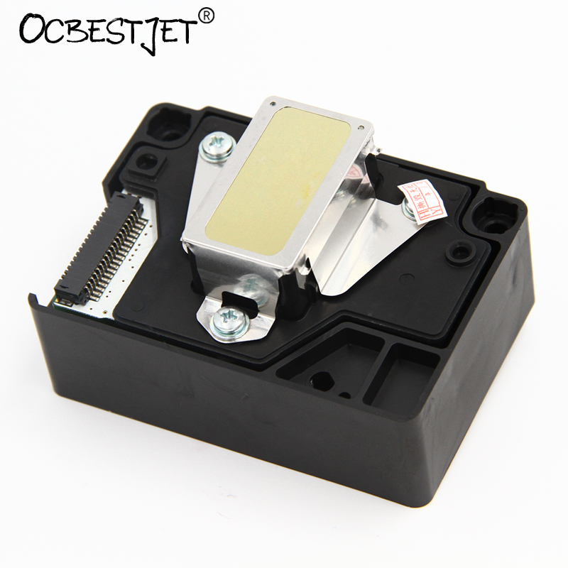 ФОТО Original F185000 F185010 Printhead For Epson Stylus Photo T1110 T1100 T30 T33 L1300 Print Head C10 C120 ME1100 Printer Head