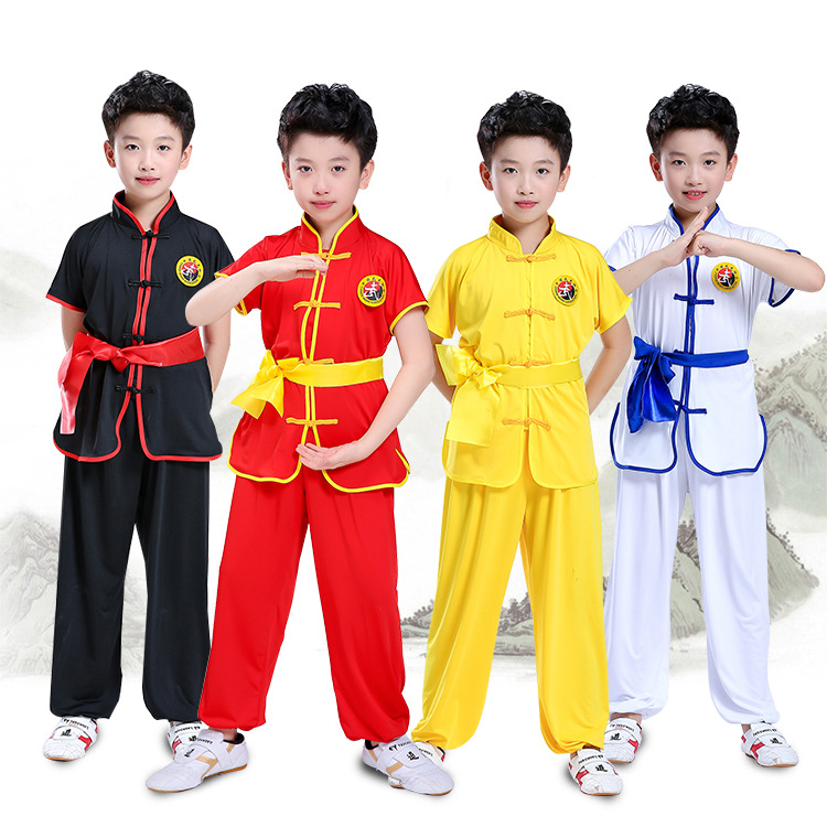 Fitness & Body Building Other Fitness & Bodybuilding Products Kids Sanda Judo Suit Women Men Cosplay Costume Fight Boxing Clothes Childrens Training Martial Arts Girl Boy Wushu Clothing Set