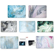 Notebook Sleeve Marble Print Color Laptop Case For Macbook Air Retina Pro 11 12 13 15 For MacBook New Pro 13 15 Inch Touch Bar цена и фото