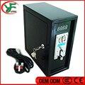 Caja de Fichas de Reloj de Control de La Máquina Expendedora Aceptador de Monedas Caja de Control del Temporizador Con Selector de Monedas Comparables Para Consola De Video
