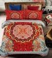 Хлопок Шлифования Европейский стиль и стиль Чехии Четыре костюм Подходит для размера кровать 1.5-1.8 м