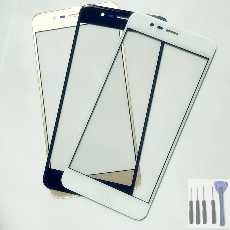 New Outer LCD Front Screen Glass Lens Cover Replacement Parts For Asus Zenfone 3 Max ZC520TL X008D ZenFone3Max Touch Screen