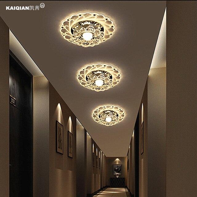 Iets Nieuws Kathy creatieve gangpad lichten gang lamp LED crystal lamp veranda &LY07