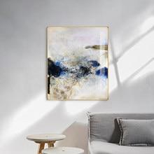 Famoso Pintor Imaginativa ZAOWUKI Abstract Canvas Pintura cartazes e impressões cuadros abstractos modernos da parede da arte Moderna da lona