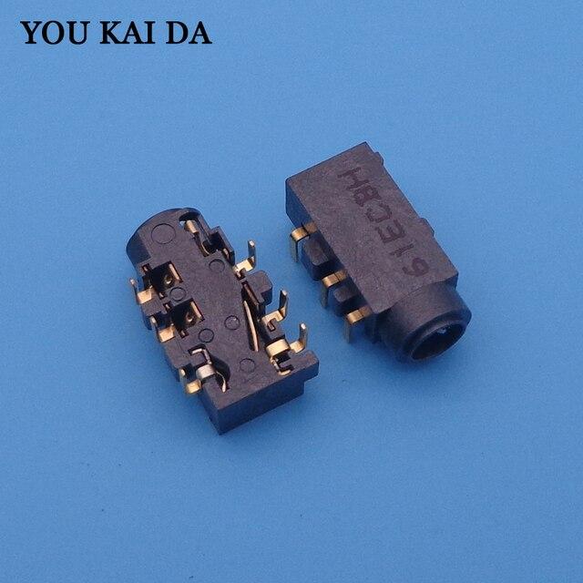 משולבת אודיו ג ק מחבר עבור Asus N550 N550JV G550JK N550 N550JA N550JK N550JV N550LF Q550LF וכו אוזניות יציאת 6  פין