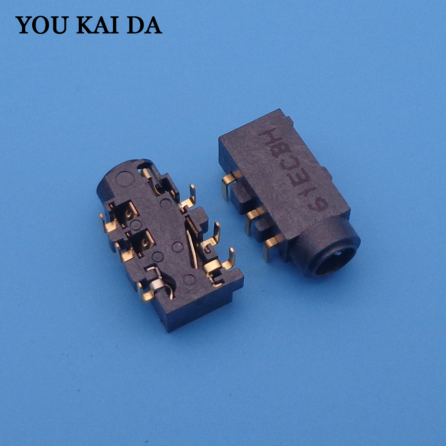 Audio Combo Jack Connector For Asus N550 N550JV G550JK N550 N550JA N550JK N550JV N550LF Q550LF Etc Headphone Port 6-pin