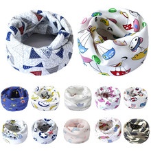 CHAMSGEND 2017 New Fashion Cute Scarf Cotton O Ring Warm Neck Scarves For Boys Girls Kids Baby Set  Sep11 Dropship
