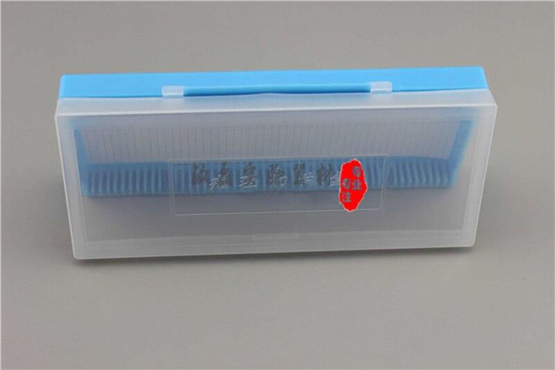 2 darabos hordozható laboratóriumi ABS műanyag mikroszkóp - Mérőműszerek - Fénykép 3