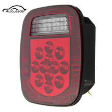 1Pcs  39 LED  Stop Turn Tail Reverse License Light for Truck/Trailer/Boat/Jeep TJ CJ YJ JK