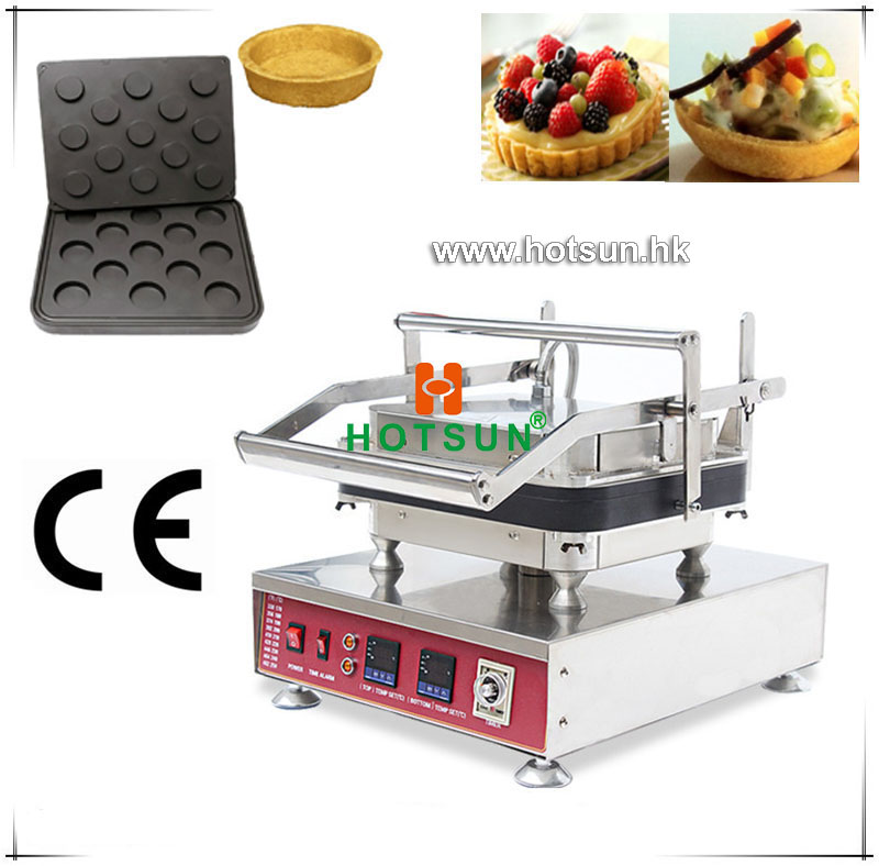 Free Shipping Heavy Duty Non-stick 110V 220V Electric 13pcs Ice Cream Circle Round Waffle Maker Machine with Removable Plate free shipping professional non stick 110v 220v electric 12pcs round circle waffle cake maker machine with removable plate