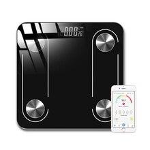 Горячие цифровые весы для тела Fat mi Bluetooth весы для ванной комнаты напольные электронные смарт b mi Bluetooth весы баланс человеческого веса