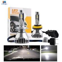 1 set 10V-30V 55W Q11 CSP IP67 Led Lighting System 9005 9006 H4 H7 H11 H8 Fog Light Bulbs Headlight 5000LM Waterproof