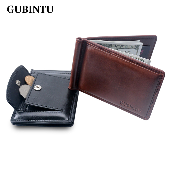 8c01f26d5d Portafoglio uomo In Pelle fermasoldi portafoglio con tasca portamonete in  pelle morsetto prezzo crad holder borsa
