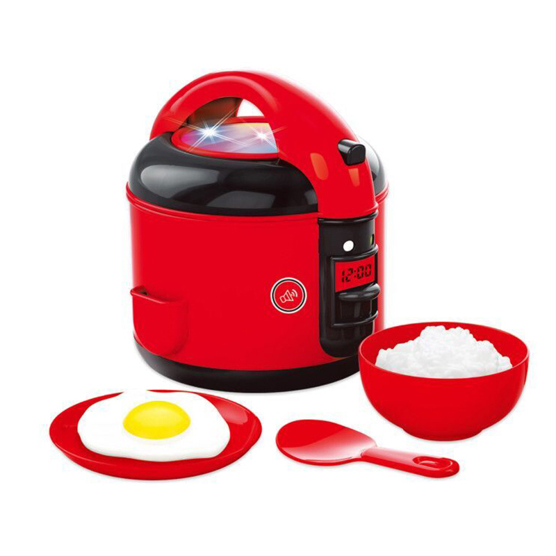 Pretend play toy kitchen sets funny electronic Intelligent touch cooker with music brinquedos menina & menino children's toy 2 4