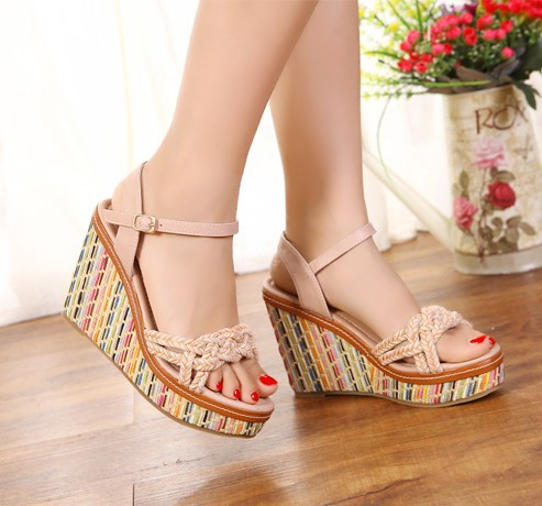 Online Buy Wholesale cute wedge sandals from China cute wedge ...