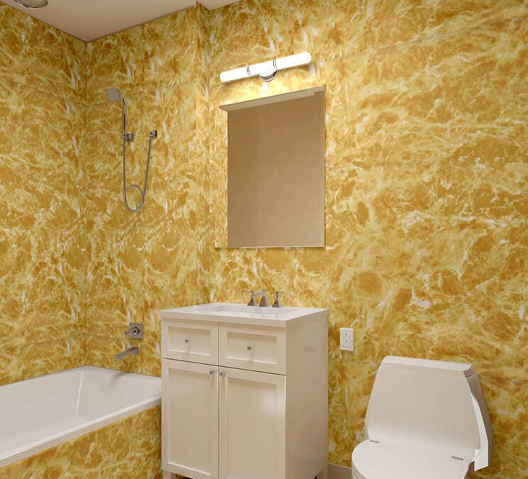 Buy 3d modern pvc marble wallpaper for 3d wallpaper for bathroom