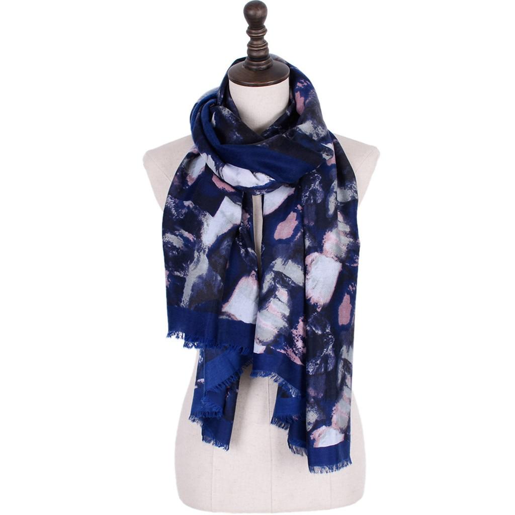 KANCOOLD   Scarf   women Print Colorful Ladies Shawl Fashion Maxi   Scarf     Wrap   Long Tassel Soft high quality   Scarf   Women