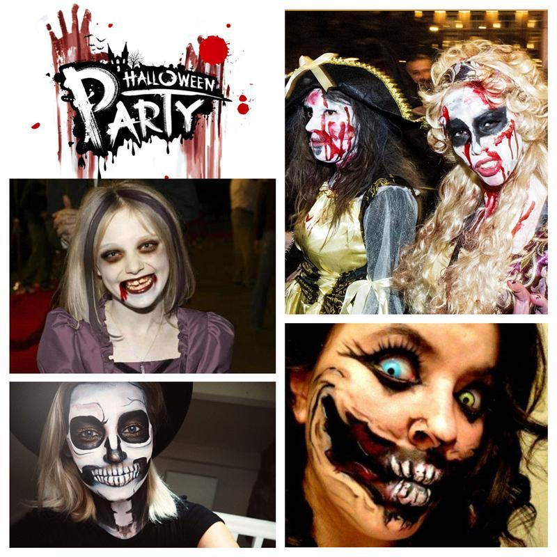 12in1-Farben Gesicht Körper Ölgemälde Art Make Up Halloween Partei-abendkleid Künstler Palette Party Phantasie Make Up Palette