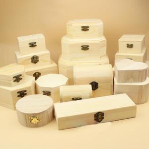 1pcs Fine small wooden box jew