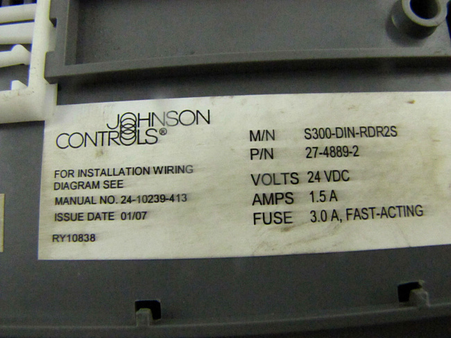JOHNSON CONTROLS S300 DIN RDR2S wiring johnson diagram controls y64t150 gandul 45 77 79 119 a19abc-24 wiring diagram at soozxer.org