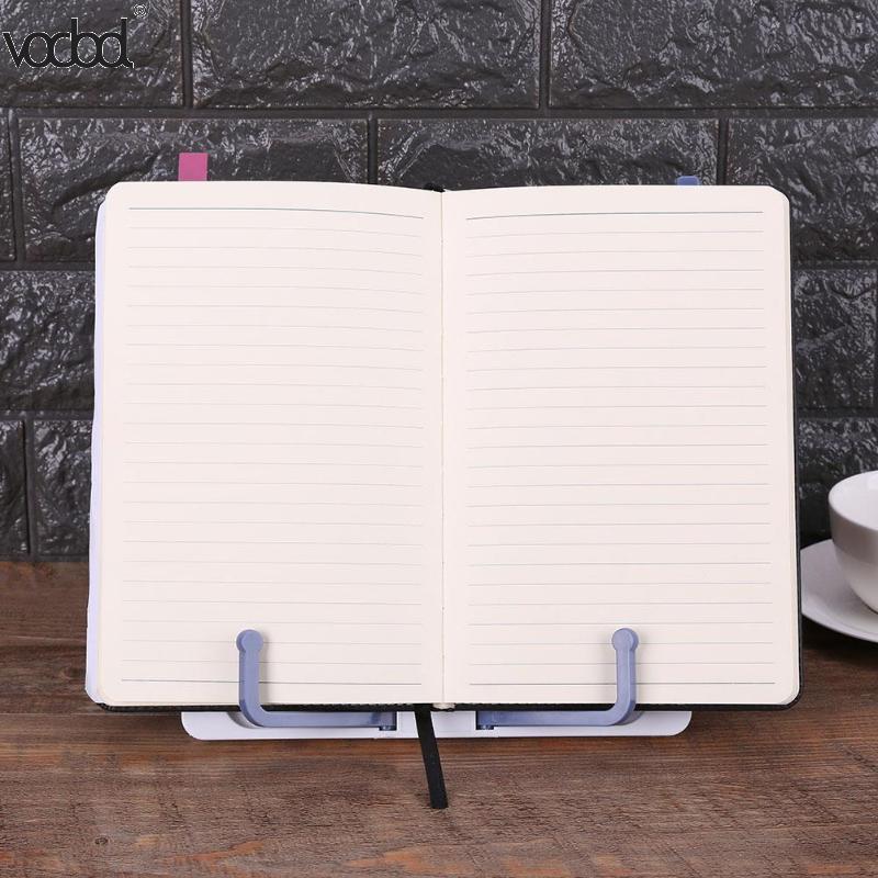 VODOOL, портативный держатель для книг, полка для чтения, подставка для книг, документов, рецептурная полка, складной держатель для поваренной книги, планшета, органайзер, подставка для отдыха