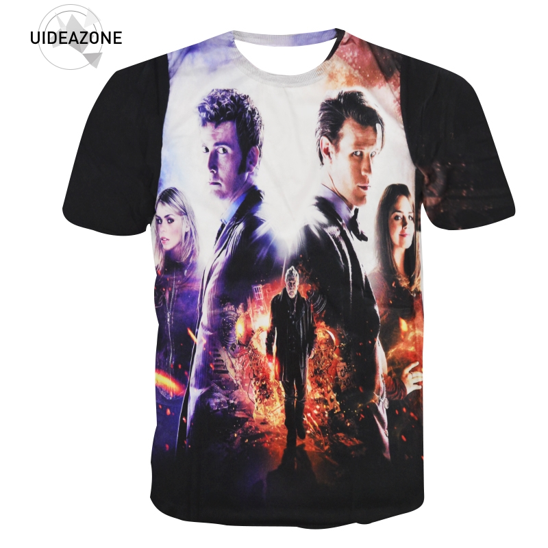 High Quality 3d T Shirt Classic Doctor Who T Shirts