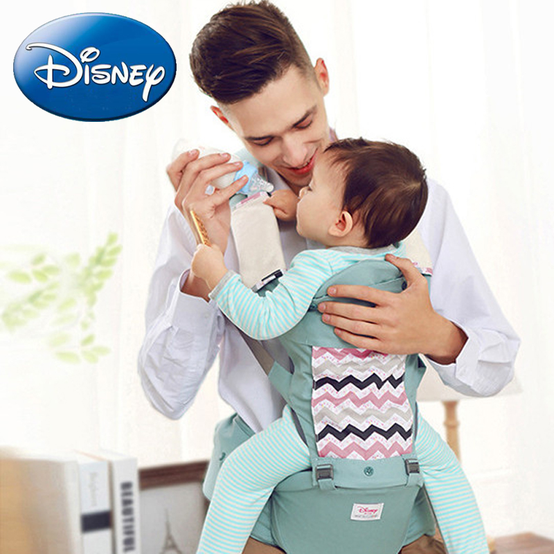 Disney Newborn Baby Carrier Kangaroo Backpack Front Facing Toddler Sling Wrap Portable Infant Care Travel Waist Stool 0-36 Month
