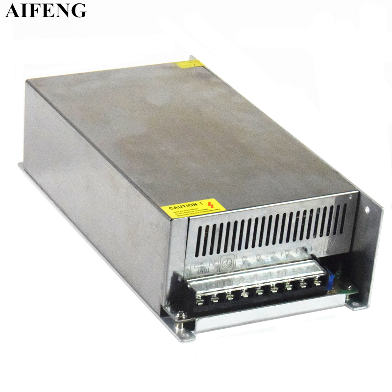 AIFENG 800W Switching Power Supply Driver Transformer AC170V-250V To DC 12V 24V 48V Low Voltage Switch Power For Led Strip Light dhl free ship 250w waterproof led power supply ac90 250v to 12v 24v output constant voltage driver 2 year warranty transformer
