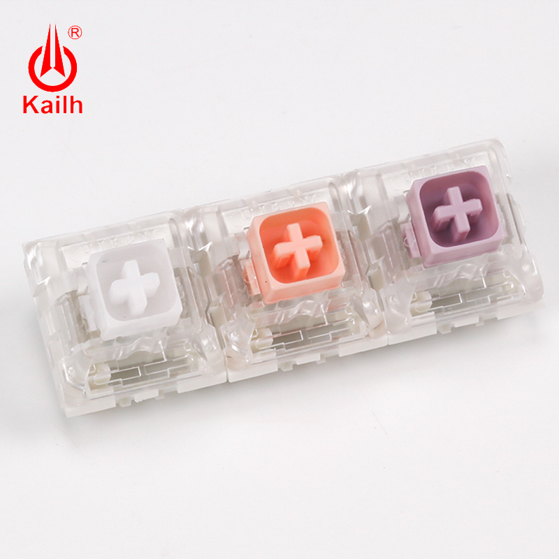 Kailh Box Switch Input Club Hako Violet/Clear/ True Mechanical Keyboard Switch Waterproof And Dustproof Soft Tactile Type