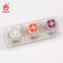 цена на Kailh Box Switch Input Club Hako Violet/Clear/ True Mechanical Keyboard Switch Waterproof and dustproof Soft tactile Type