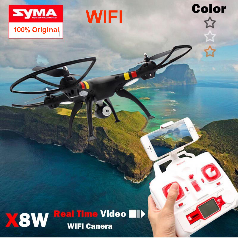 Original Syma XW Explorers WiFi FPV Drone Headless Mode RC Quadcopter with