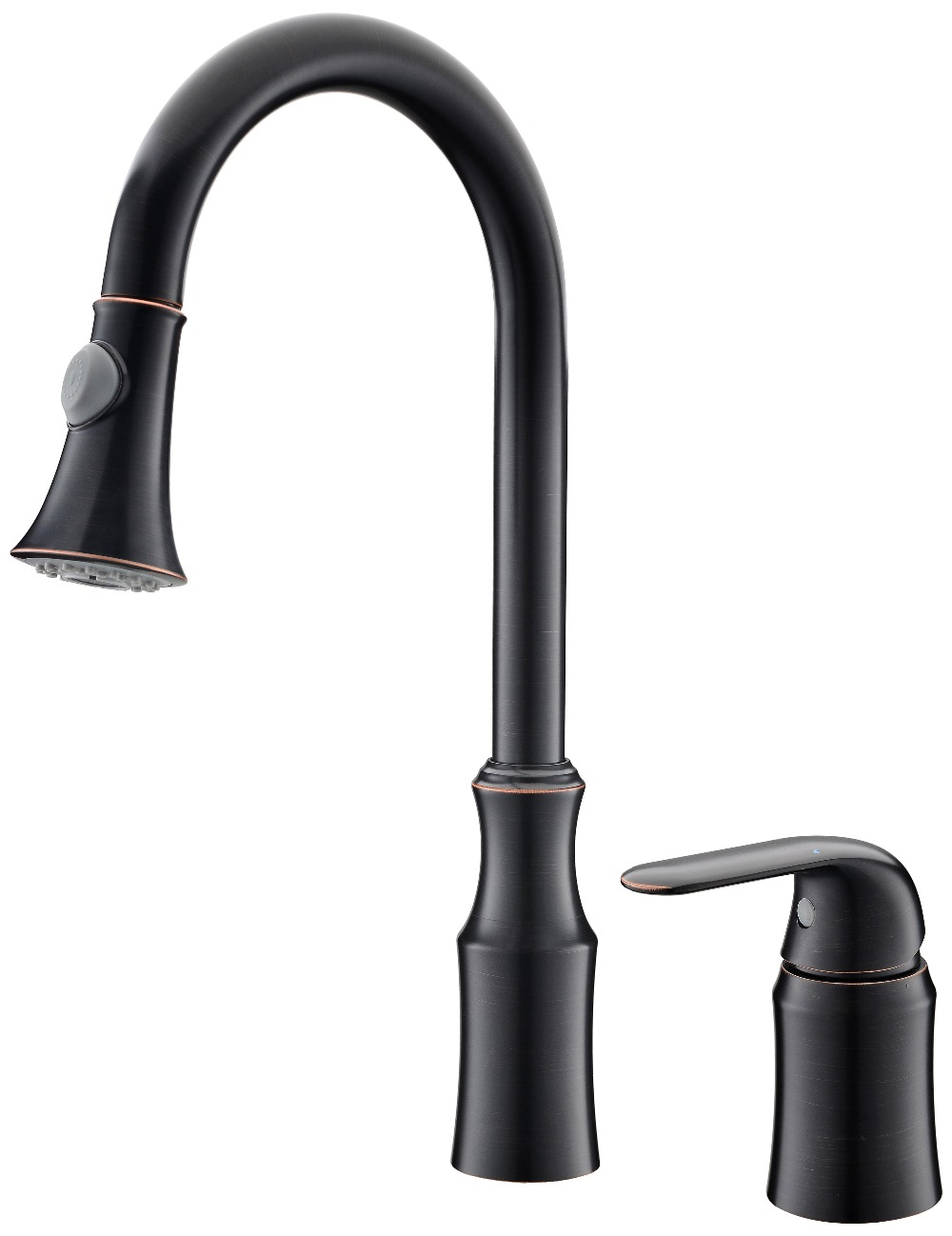 ORB black Single Handle Pull-out Kitchen Faucet mixer tap widespread 2 Holes deck mounted only ship to U.S ADDRESSORB black Single Handle Pull-out Kitchen Faucet mixer tap widespread 2 Holes deck mounted only ship to U.S ADDRESS