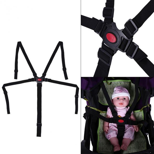 Baby Stroller Safety Belt Adjustable Baby Chair Safety Strap Harness