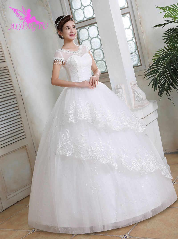 6d631385c6 Detail Feedback Questions about AIJINGYU dresses wedding shop online ...