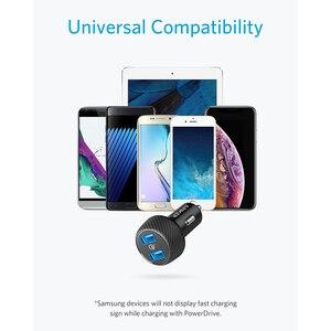 Image 4 - Anker PowerDrive Speed 2 39 واط شاحن سيارة USB مزدوج ، شحن سريع 3.0 ل Galaxy ، PowerIQ آيفون 11/Xs/XS Max/XR/X/8 وأكثر من ذلك