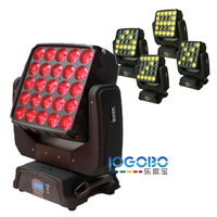5x5 Led Matrix Stage Moving Head Blinder Led Moving Head American DJ Matrix Beam Panel Display Numbers, Letters, Graphics, Image